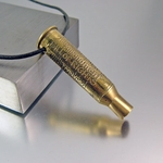 2nd Amendment Bullet Necklace | 7.62x54 AK 47