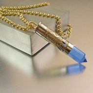 .357 Mag Bullet Necklace | Ice Storm