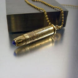 357 mag bullet necklace purple velvet 357 mag bullet necklace purple velvet aloadofball Images
