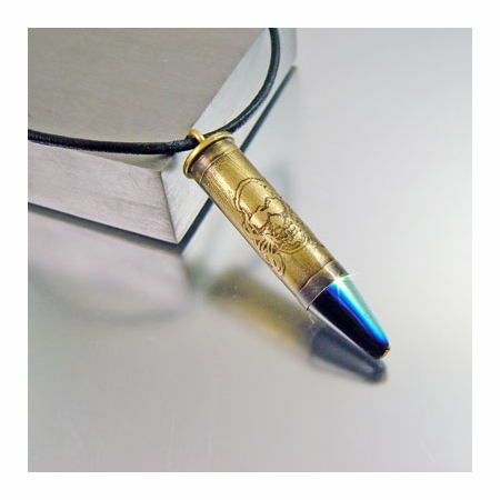 .38 SPL Bullet Necklace | Smiley