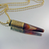 .40 Caliber Bullet Necklace | Coffee Crema