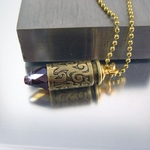 .40 Caliber Bullet Necklace | Passionate