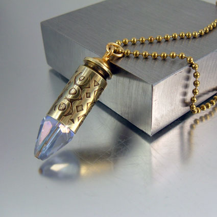 .40 Caliber Bullet Necklace | XO