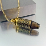 .45 Caliber | Bullet Necklace | Smoky