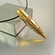 .50 Caliber Bullet Necklace | Flaming Skull