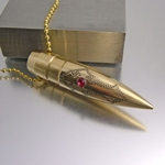 .50 Caliber Bullet Necklace | Have Faith