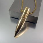 .50 Caliber | Bullet Necklace | Shadow