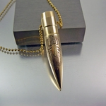50 Caliber Bullet Necklace | Spyder