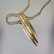 .50 Caliber Bullet Necklace | Trophy