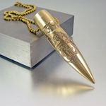 .50 Caliber Bullet Necklace | USMC