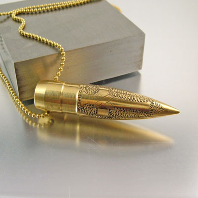 .50 Caliber Necklace | Cross Roads