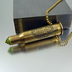 7.62x54R Bullet Necklace | Ancient One