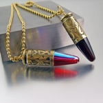 9mm Bullet Necklace | Hearts