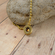 9mm Bullet Pendant Charm with Copper Crystal