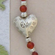 Artisan Handcrafted Bracelet - Carnelian and Silver