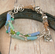 "Artisan Leather Bracelet - ""Agua Fria"""