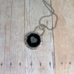 Artisan Necklace | Black Heart