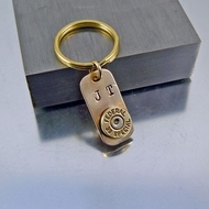 Bullet Key Ring | Charm | 9mm | Customized