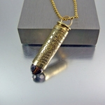 Bullet Necklace | .308 Caliber | Rock Art