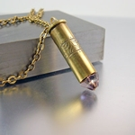Bullet Necklace | .38 SPL | Golden Rosa