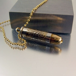 Bullet Necklace | 38 SPL | Golden