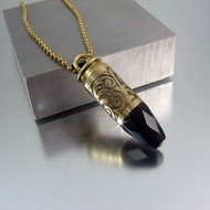 Bullet Necklace | .45 Caliber | Whispering Night