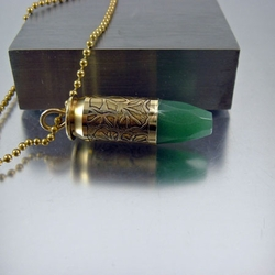 Bullet Necklace | 45mm | Ginko