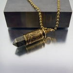 Bullet Necklace | 9mm | Molten