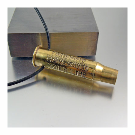 Bullet Necklace | May Have Saved Your Life | 7.62x54