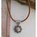 Concho Necklace - Bolo Leather