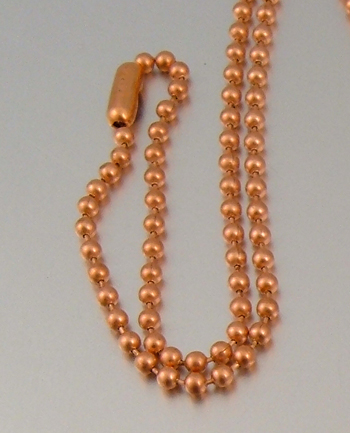 Copper Ball Chain