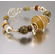 Desert Cedar Gemstone and Silver Bracelet