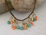Designer Western Jewelry Necklace - Ocean Desert