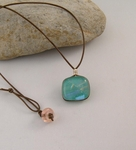 Dichroic Glass Necklace C3