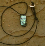 Dichroic Glass Necklace C80