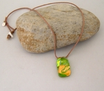 Dichroic Necklace C2