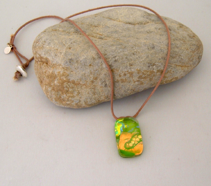 Dichroic Necklace