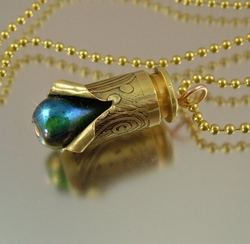 Bullet necklace envy envy bullet necklace pendant aloadofball Images