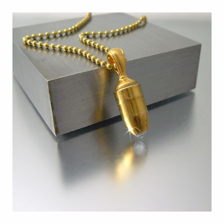 Fancy Jules | Bullet Head Necklace