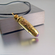 Guardian Angel Bullet Necklace | 9mm | Solid Brass