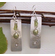 "Handcrafted Earrings - ""Green River"""