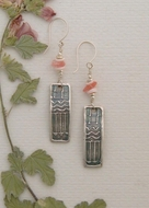 Handcrafted Earrings - Morning Blush