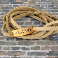 Leather and Cord Bracelets