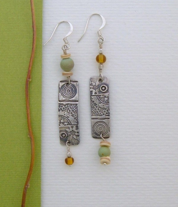 Handmade Earrings - Mottle