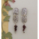 Handmade Earrings - Sauvignon