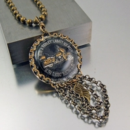 Harley Ultra Classic Electra Glide Necklace