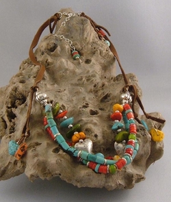 Hearts and Soul - Western Designer Jewelry Necklace