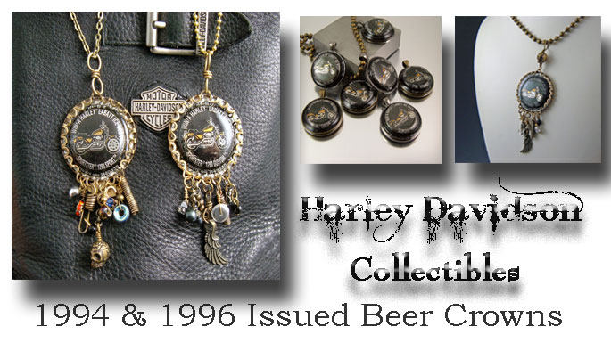 Harley Davidson Collection + Jewelry + Collectibles