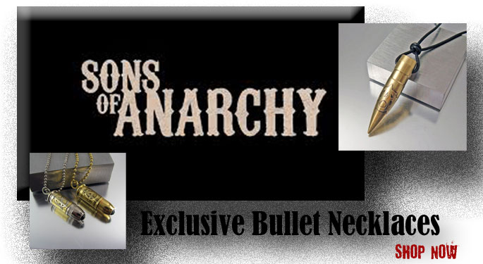 Sons of Anarchy Bullet Necklace