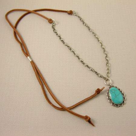 Hubei Turquoise Necklace